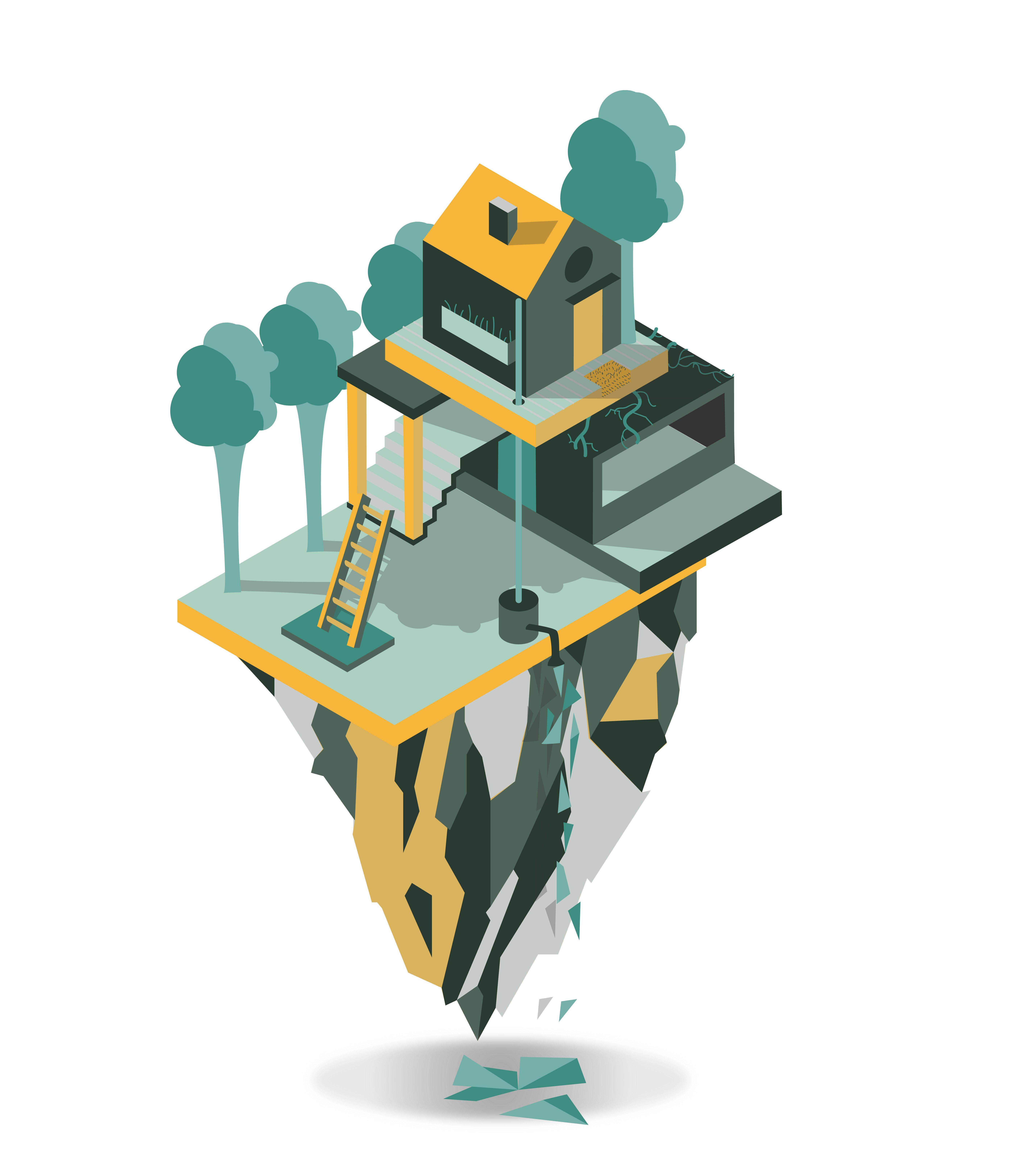 huis op een berg Quintie-01